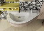 модернистични  овални мебели за баня