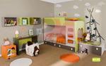 Функционални детски стаи с двуетажни легла
