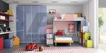 луксозна детска стая с 2-етално легло