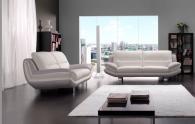 Мека мебел от естествена кожа