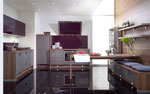 Нестандартни проекти на кухня с барплот 352-2616