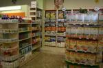 стелажи за магазини за детски храни