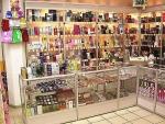 Изработка на търговски щандове за магазини за козметика