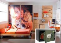 Детска стая с вграден сейф FRS 30 EL комплект