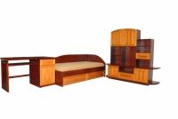 Модерни мебели за детска стая от чам