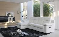 Модерна бяла италианска мека мебел
